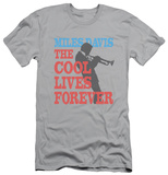 Miles Davis - Cool Lives (slim fit) Shirt