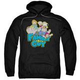 Hoodie: Family Guy - Family Fight Pullover Hoodie