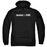 Hoodie: Queer As Folk - Logo Pullover Hoodie