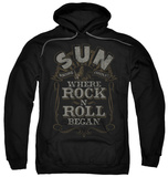 Hoodie: Sun Records - Where Rock Began Pullover Hoodie