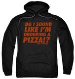 Hoodie: Die Hard - Pizza Pullover Hoodie