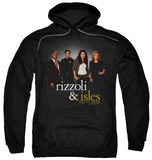 Hoodie: Rizzoli & Isles - R&I Cast Pullover Hoodie