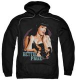 Hoodie: Bettie Page - Good Vs Bad Pullover Hoodie