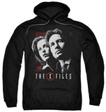 Hoodie: The X-Files - Mulder & Scully Pullover Hoodie