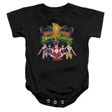 Infant: Power Rangers - Rangers Unite Infant Onesie