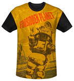Youth: Forbidden Planet - Strang World(black back) Shirt