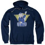 Hoodie: Airplane - Otto Pullover Hoodie