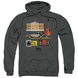 Hoodie: Back To The Future - Items Pullover Hoodie