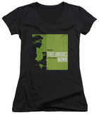 Juniors: Thelonious Monk - Work V-Neck Shirts