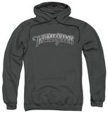 Hoodie: The Three Stooges - Metallic Logo Pullover Hoodie