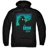 Hoodie: Iron Giant - Look To The Stars Pullover Hoodie