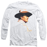 Long Sleeve: John Wayne - Painted Profile T-shirts