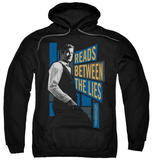 Hoodie: The Mentalist - Between The Lies Pullover Hoodie
