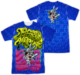 Jefferson Airplane - White Rabbit (Front/Back Print) T-Shirt