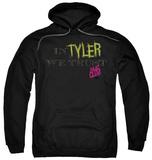 Hoodie: Fight Club - In Tyler We Trust Pullover Hoodie