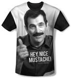 Youth: Modern Family - Mustache(black back) Shirts