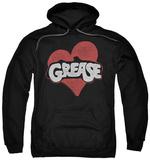 Hoodie: Grease - Heart Pullover Hoodie