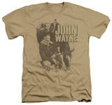 John Wayne - In The West T-shirts
