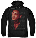 Hoodie: Muhammad Ali - Champion's Speech Pullover Hoodie