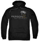 Hoodie: Person Of Interest - Logo Pullover Hoodie