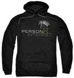 Hoodie: Person Of Interest - Logo Pullover Hoodie