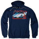 Hoodie: Speed Racer - Vintage Mach 5 Pullover Hoodie