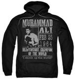 Hoodie: Muhammad Ali - Poster Pullover Hoodie