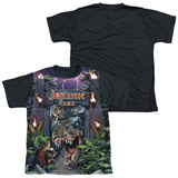 Youth: Jurassic Park - Welcome To The Park(black back) T-shirts