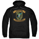 Hoodie: Tropic Thunder - Patch Pullover Hoodie