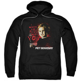 Hoodie: Pet Sematary - I Want To Play Pullover Hoodie