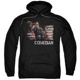 Hoodie: Watchmen - Comedian Pullover Hoodie