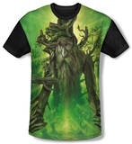 Youth: The Lord Of The Rings: The Return Of The King - Treebeard(black back) T-shirts