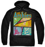 Hoodie: Archie Comics - The Archies Colored Pullover Hoodie