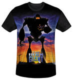 Youth: Iron Giant - Giant Poster(black back) T-Shirt