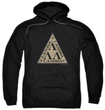 Hoodie: Revenge Of The Nerds - Tri Lambda Logo Pullover Hoodie