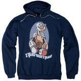 Hoodie: Popeye - I Yams Pullover Hoodie