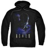 Hoodie: Alien - In Space Pullover Hoodie