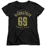 Womans: Woodstock - White Lake T-Shirt