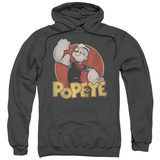 Hoodie: Popeye - Retro Ring Pullover Hoodie