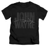 Juvenile: John Wayne - Silhouette Signature T-shirts