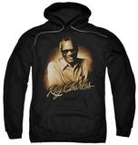 Hoodie: Ray Charles - Sepia Pullover Hoodie