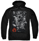 Hoodie: Sons Of Anarchy - Group Fight Pullover Hoodie