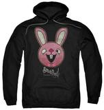 Hoodie: Sucker Punch - Pink Bunny Pullover Hoodie