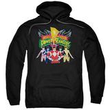 Hoodie: Power Rangers - Rangers Unite Pullover Hoodie