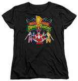 Womans: Power Rangers - Rangers Unite Shirts
