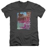 Woodstock - Plm V-Neck T-Shirts