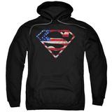 Hoodie: Superman - Super Patriot Pullover Hoodie