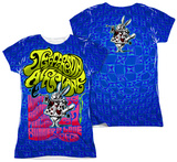 Juniors: Jefferson Airplane - White Rabbit (Front/Back Print) Womens Sublimated