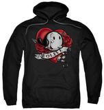 Hoodie: Popeye - Olive Tattoo Pullover Hoodie