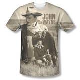 John Wayne - Stoic Cowboy Shirt